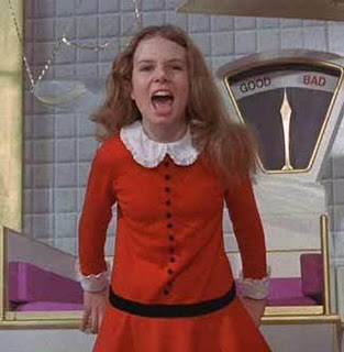 Veruca Salt in Charlie and the Chocolate Factory