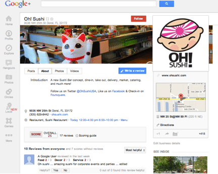 Google+ Local: What Does It Mean for Your Business?
