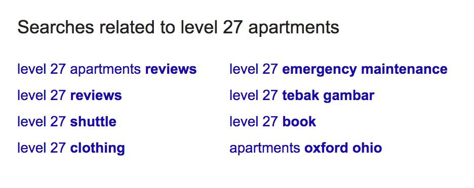 apartment seo basics choosing keywords for single property websites